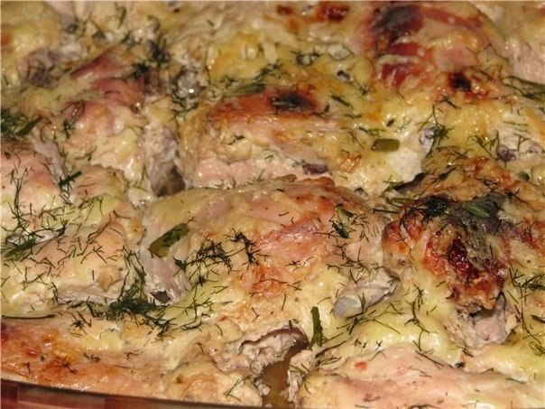 Курица в кефире - Любимые рецепты