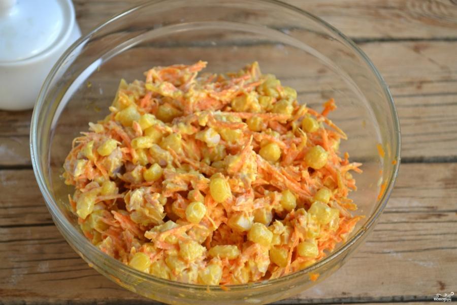 Салат с курицей и морковкой по-корейски рецепт