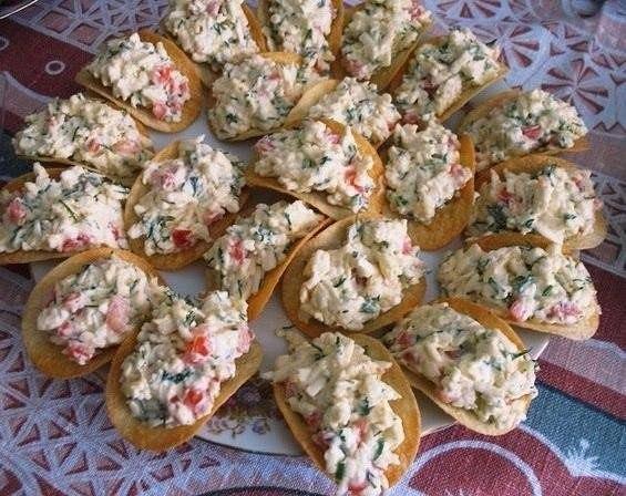 Салат с чипсами рецепты с фото