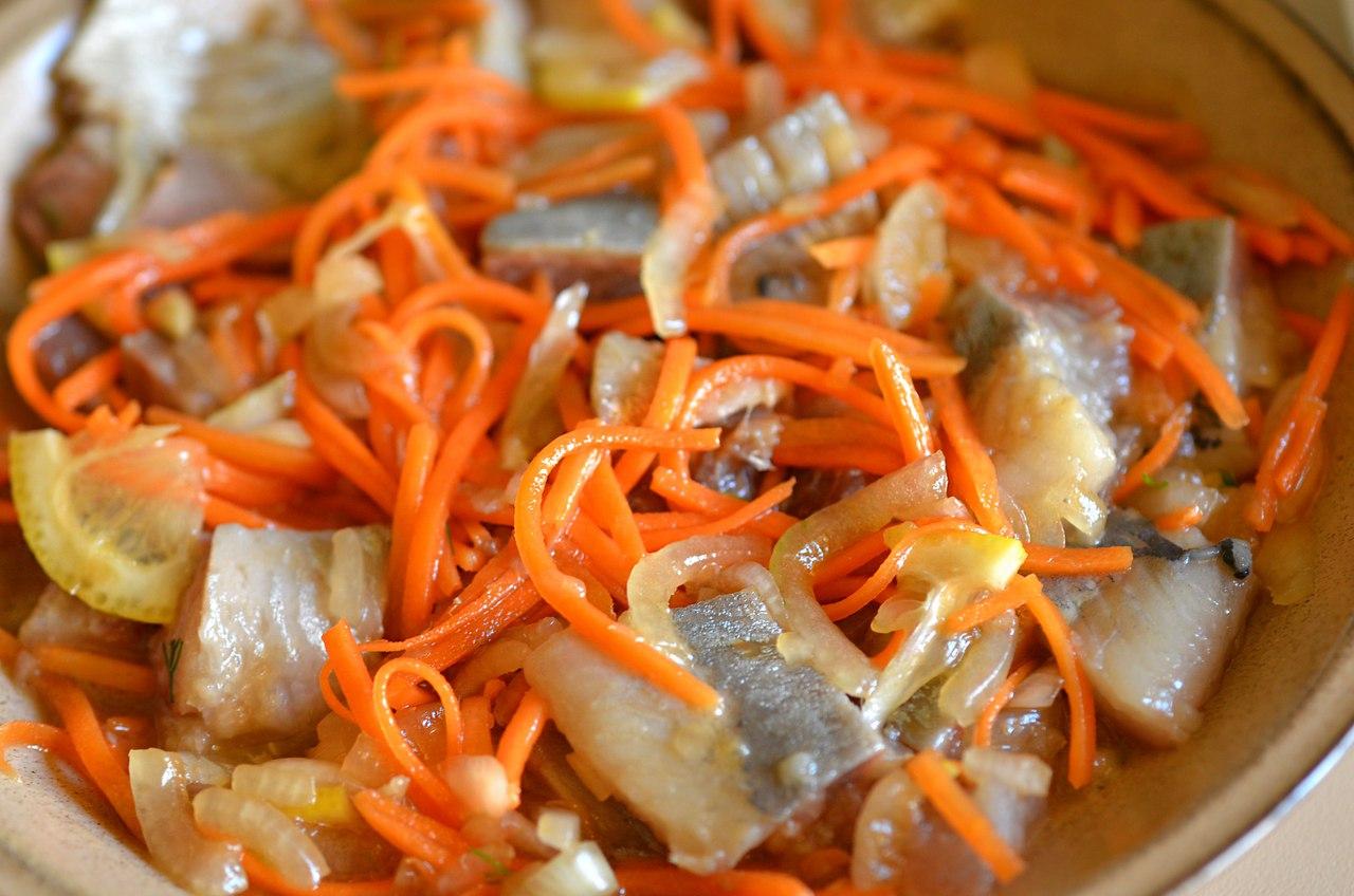 Селедка хе : 5 вкусных рецептов хе из сельди по-корейски 100