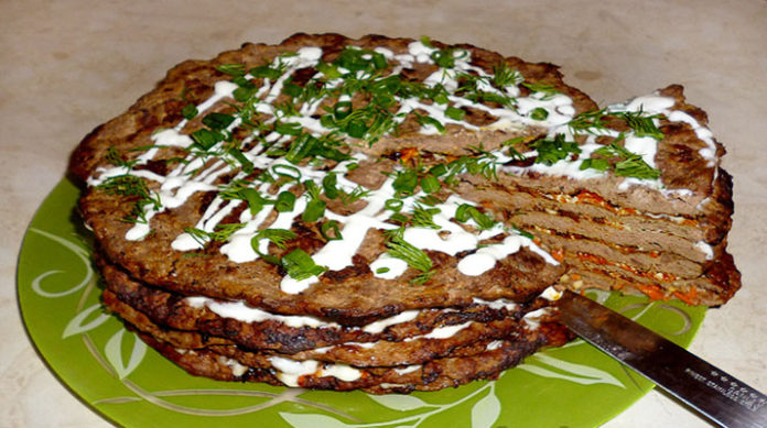 Торт из говяжьей печени пошаговый рецепт с фото