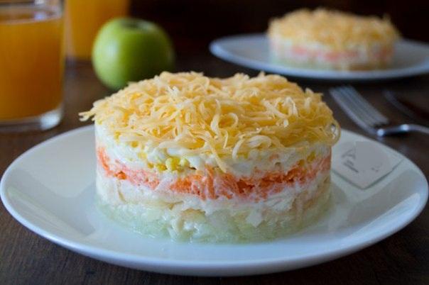 Французский салат с морковью рецепты с