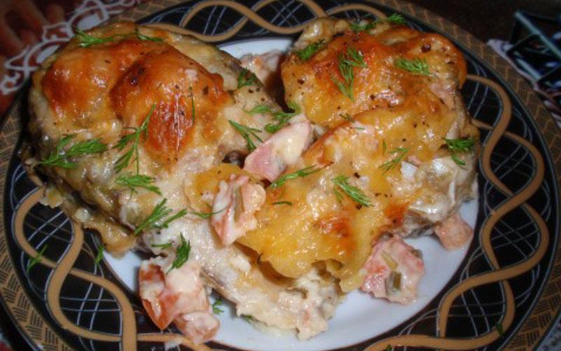 Филе рыбы по-гречески .Вкус просто божественный!