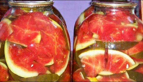 6 рецептов вкуснейших арбузов на зиму