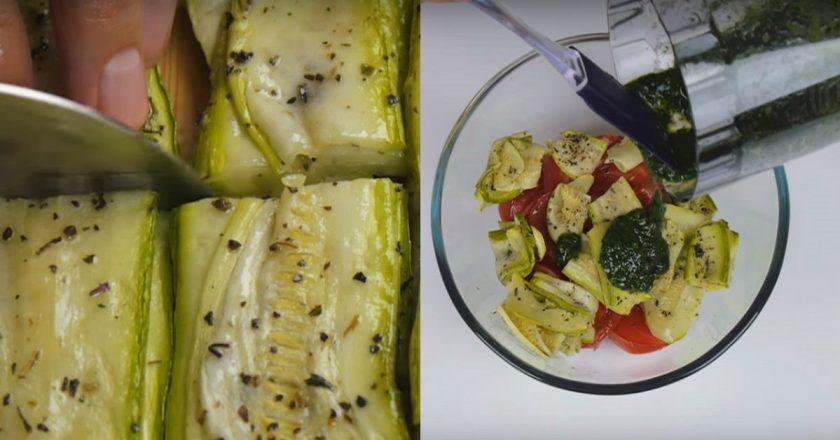 Кабачковый салат