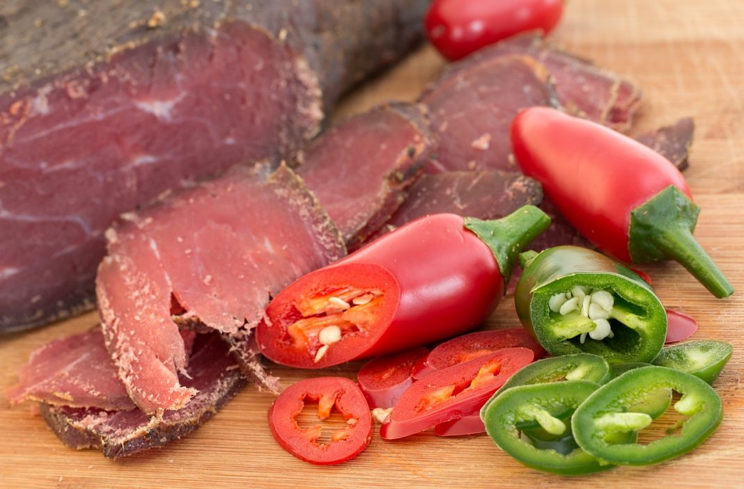 Изумительное домашнее вяленое мясо