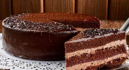 Завораживающий шоколадный торт «Арабские сказки»