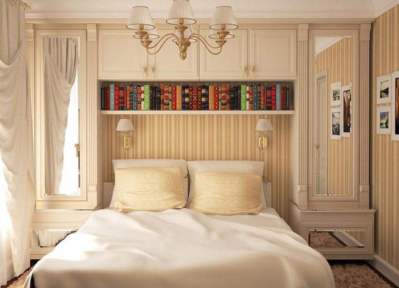 Идеи декора маленьких спален