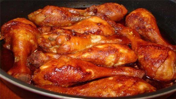 Запеченные куриные ножки в сырной корочке